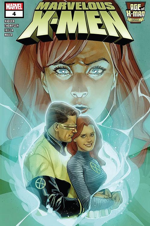 AGE OF X-MAN MARVELOUS X-MEN #4 (OF 5)