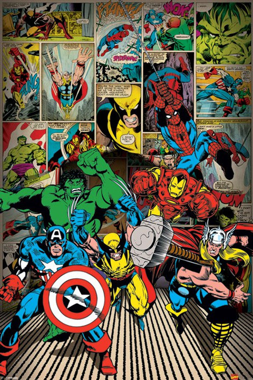 Marvel (COMICS HEROES)