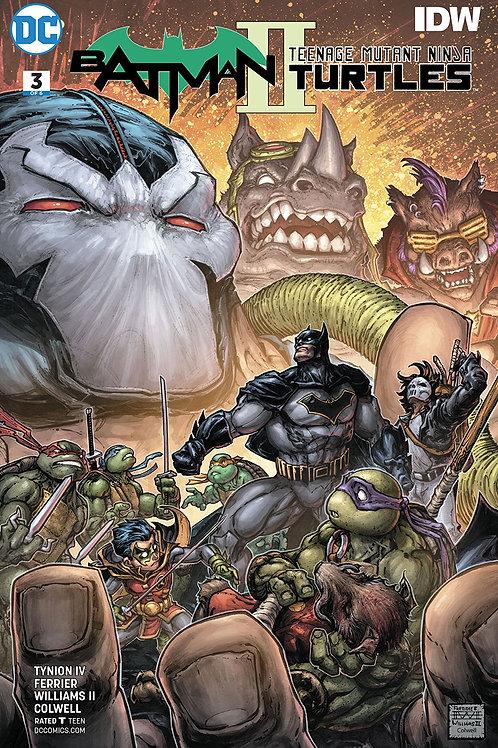 BATMAN TEENAGE MUTANT NINJA TURTLES II #3 (OF 6)