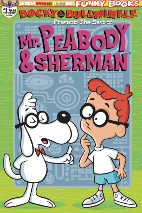 ROCKY & BULLWINKLE BEST OF PEABODY & SHERMAN #1 CVR B LTD ED