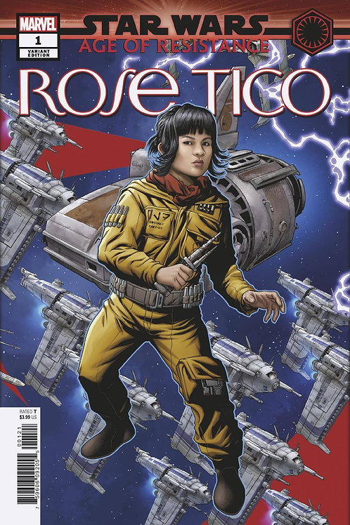 STAR WARS AOR ROSE TICO #1 MCKONE PUZZLE PC VAR