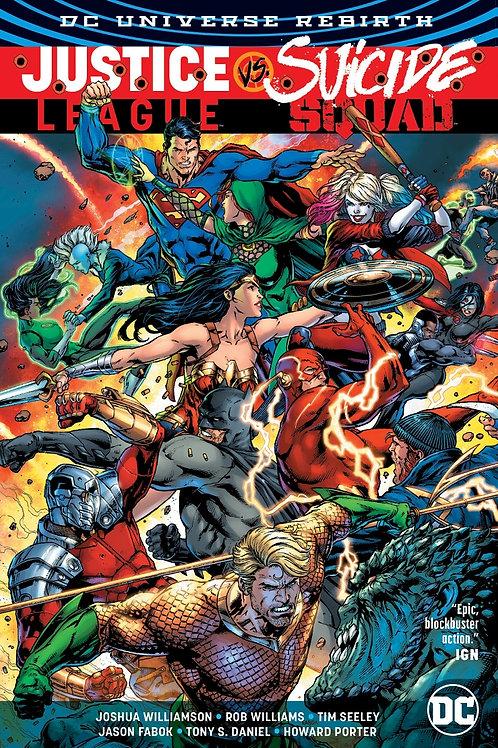 Justice League vs Suicide Squad (Rebirth)