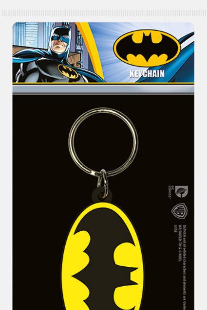 Лицензионный брелок DC Comics (Batman Symbol)