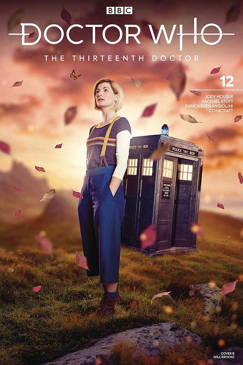 DOCTOR WHO 13TH #12 CVR B PHOTO