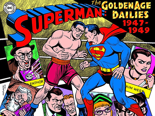 SUPERMAN THE GOLDEN AGE NEWSPAPER DAILIES HC 1947-1949