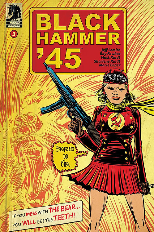 BLACK HAMMER 45 FROM WORLD OF BLACK HAMMER #3 CVR A