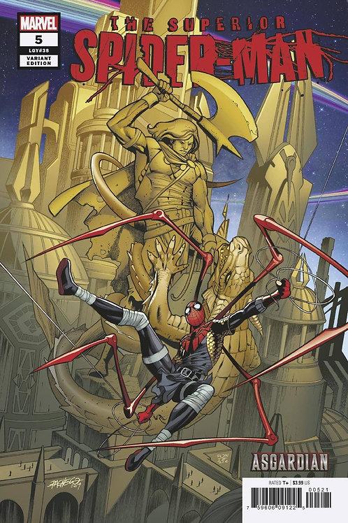 SUPERIOR SPIDER-MAN #5 PACHECO ASGARDIAN VAR