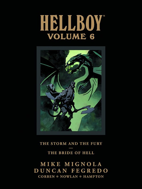 HELLBOY LIBRARY HC VOL 06 STORM FURY BRIDE HELL