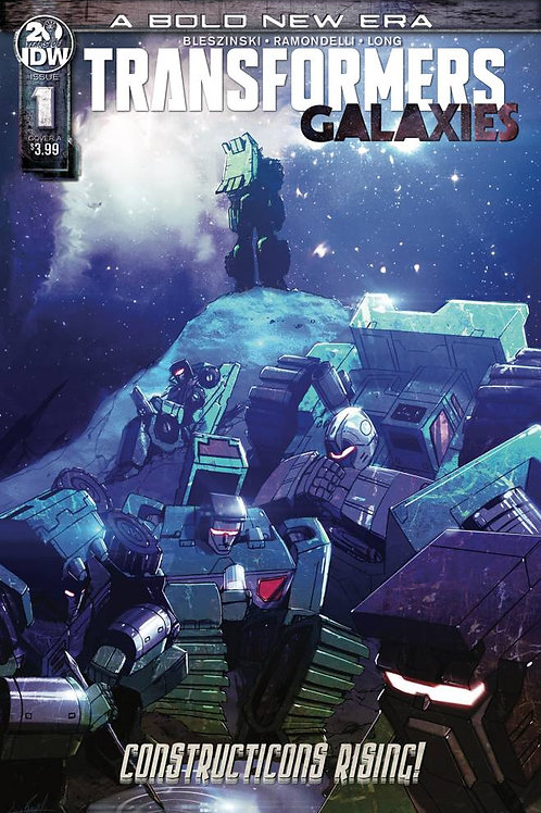 TRANSFORMERS GALAXIES #1 CVR A RAMONDELLI