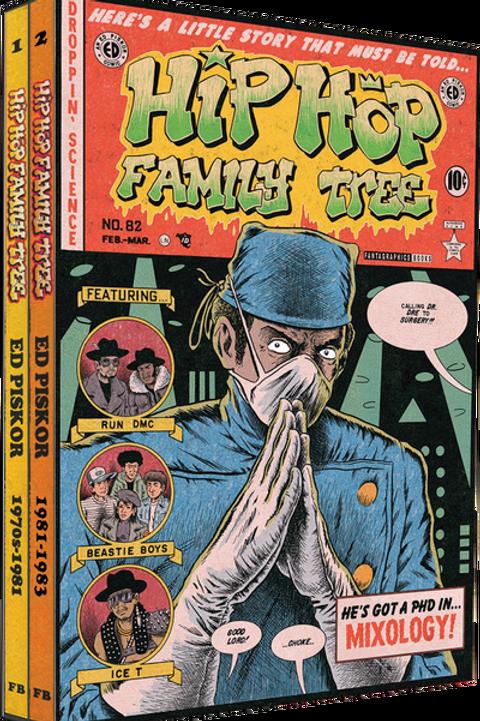 HIP HOP FAMILY TREE GN BOX SET 1975-1983