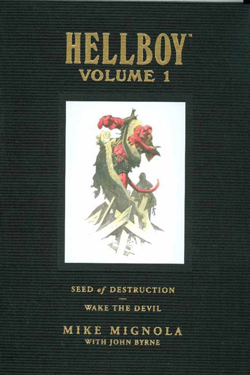 HELLBOY LIBRARY HC VOL 01 SEED OF DESTRUCTION