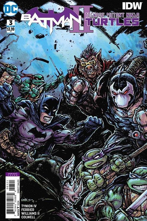 BATMAN TEENAGE MUTANT NINJA TURTLES II #3 (OF 6) VAR ED