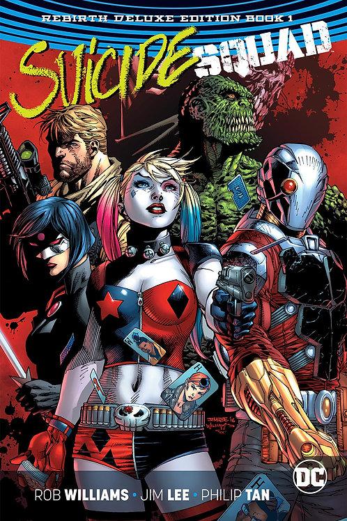 Suicide Squad Rebirth DLX COLL HC Book 01