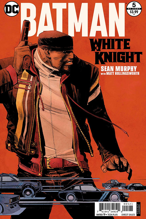 BATMAN WHITE KNIGHT #5 (OF 8) VAR ED