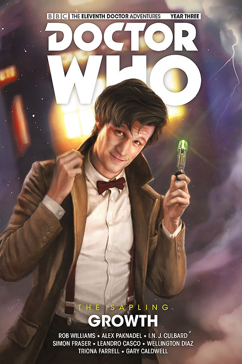 DOCTOR WHO 11TH SAPLING HC VOL 01 GROWTH