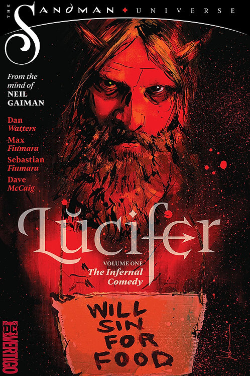 LUCIFER TP VOL 01 THE INFERNAL COMEDY