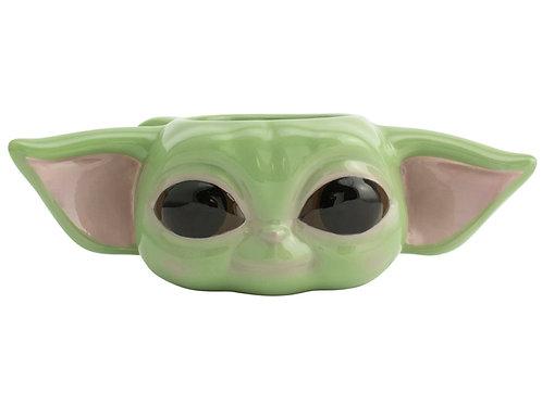 Кружка 3D SW Mandalorian The Child shaped mug