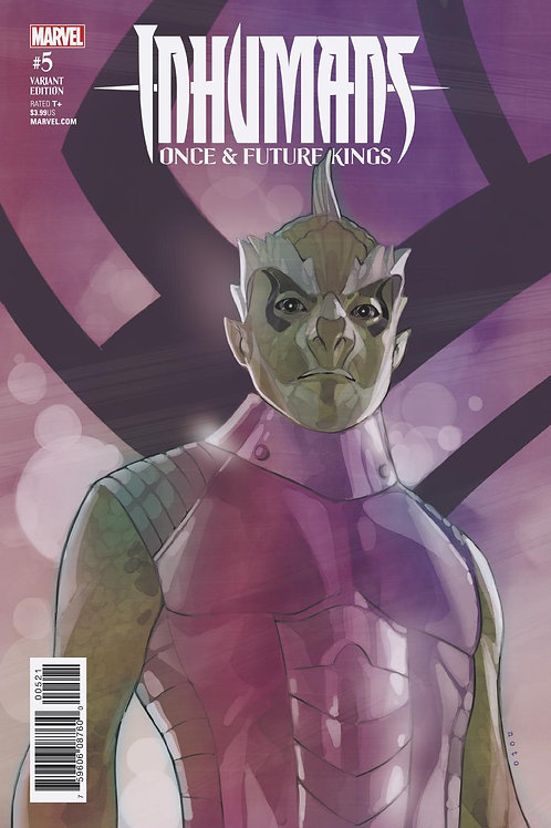INHUMANS ONCE FUTURE KINGS #5 (OF 5) NOTE CHARACTER