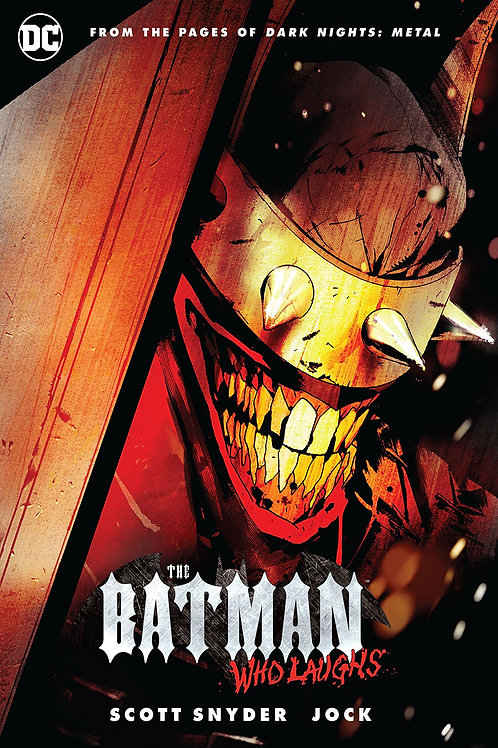 BATMAN WHO LAUGHS HC