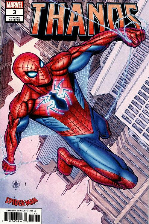 THANOS #3 BRADSHAW SPIDER-MAN WORLDWIDE SUIT VAR