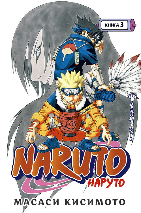 Naruto. Наруто. Книга 3