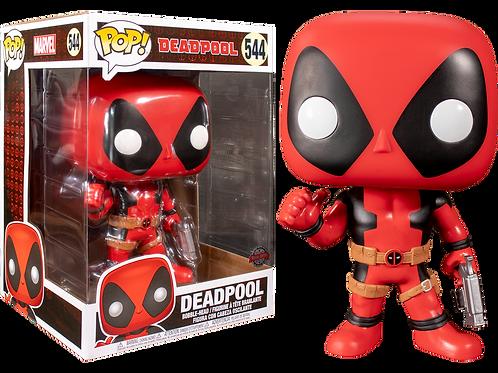 """Фигурка Funko POP! Bobble: Marvel: Deadpool: 10"""" Deadpool ThumbsUp (RD) (Exc)"""