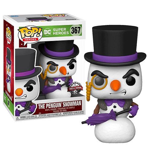 Фигурка Funko POP! Vinyl: DC: Holiday: Penguin Snowman (Exc)