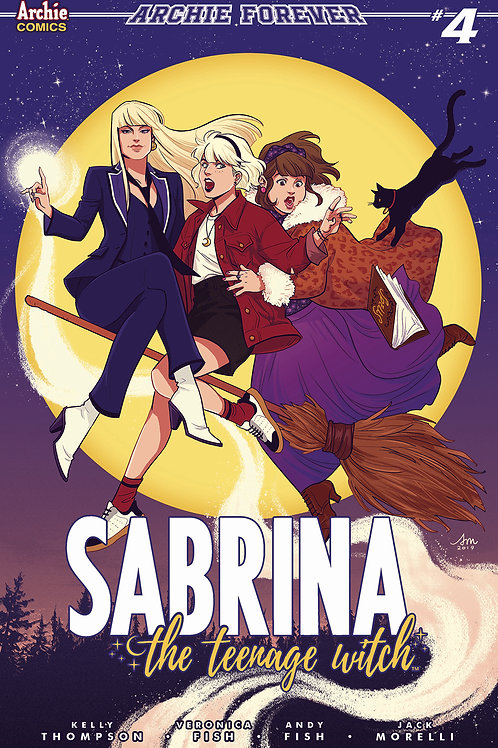 SABRINA TEENAGE WITCH #4 CVR C MOK