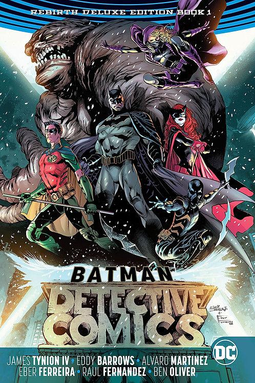 BATMAN DETECTIVE REBIRTH DLX COLL HC BOOK 01