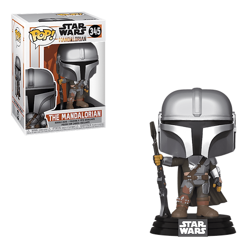 Фигурка Funko POP! Bobble: Star Wars: Mandalorian: The Mandalorian (Final)