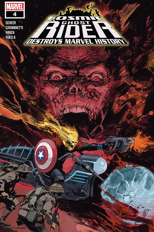 COSMIC GHOST RIDER DESTROYS MARVEL HISTORY #4 (OF 6)