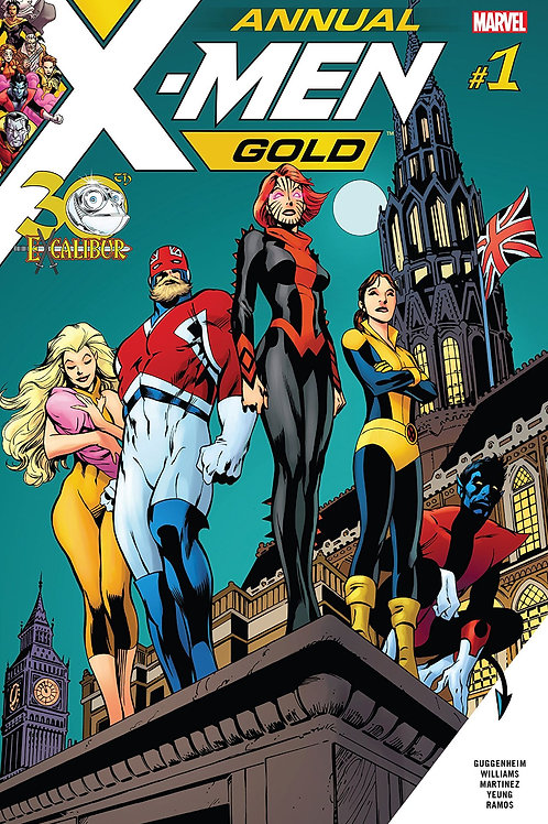 X-MEN GOLD ANNUAL #1 LEG