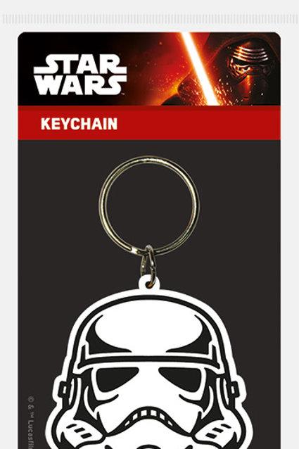 Лицензионный брелок Star Wars (Storm Trooper)