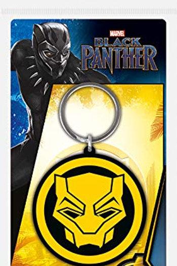 Лицензионный брелок Black Panther (Logo)