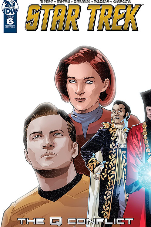 STAR TREK Q CONFLICT #6 CVR A MESSINA