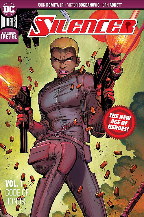 SILENCER TP VOL 01 CODE OF SILENCE