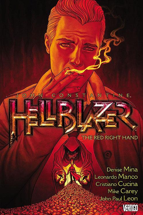 HELLBLAZER TP VOL 19 RED RIGHT HAND