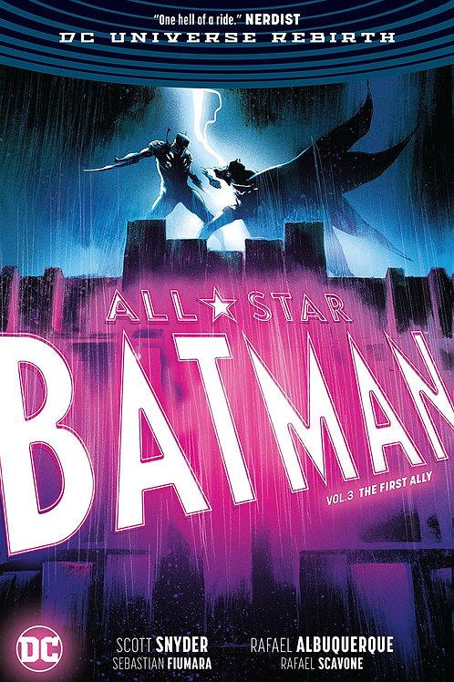 ALL STAR BATMAN HC VOL 03 FIRST ALLY REBIRTH