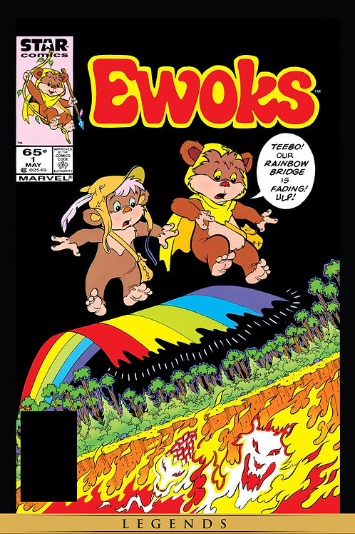 TRUE BELIEVERS STAR WARS EWOKS #1