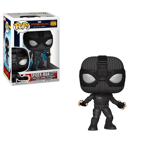 Фигурка Funko POP! Spider-Man: Far From Home: Spider-Man (Stealth Suit)