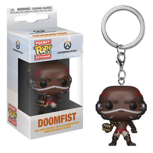 "Брелок Funko Pocket Pop! Keychain: Overwatch ""Doomfist"""