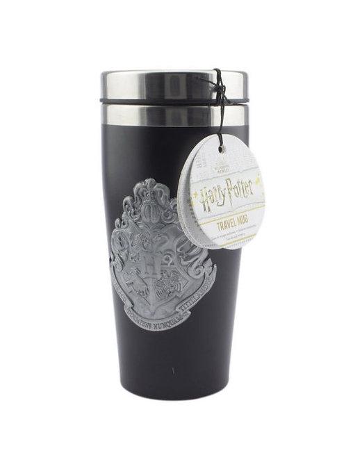Кружка-термос Harry Potter Hogwarts Travel Mug with Metal Badge