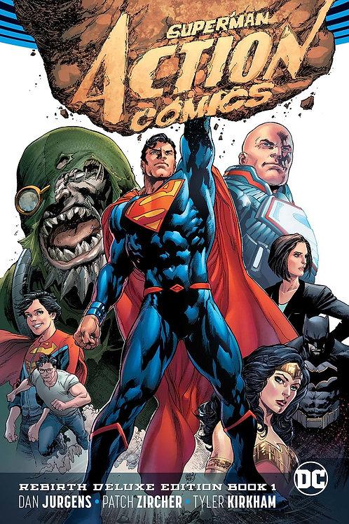 Superman Action Comics Rebirth DLX COLL HC Book 01