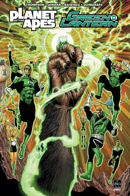 PLANET OF APES GREEN LANTERN TP