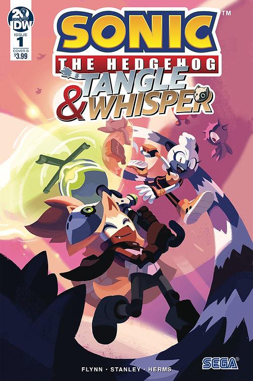 SONIC THE HEDGEHOG TANGLE & WHISPER #1 CVR B FOURDRAINE
