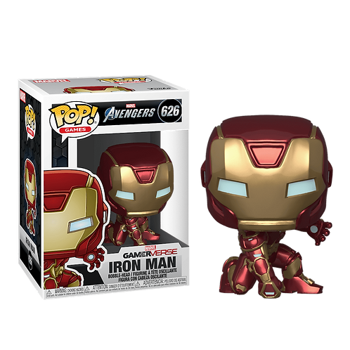 Фигурка Funko POP! Bobble: Marvel: Avengers Game: Iron Man
