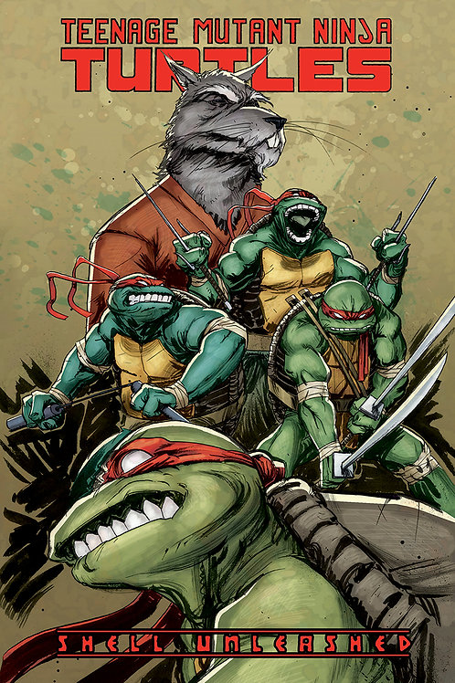 TEENAGE MUTANT NINJA TURTLES TP VOL 01