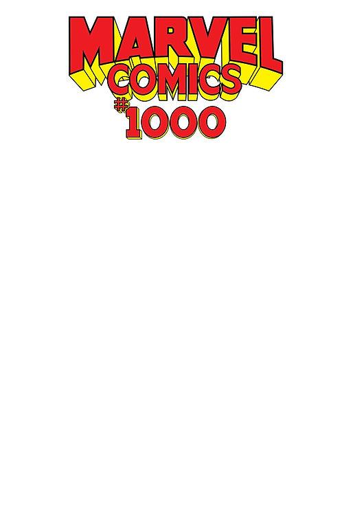 MARVEL COMICS #1000 BLANK VAR