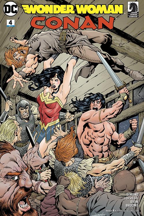 WONDER WOMAN CONAN #4 (OF 6) VAR ED