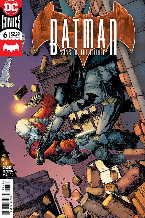BATMAN SINS OF THE FATHER #6 (OF 6)